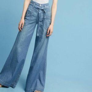 Pilcro Anthro High-Rise Wide-Leg Jeans